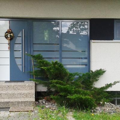 Haustür  -   Design vom Kunden erstellt